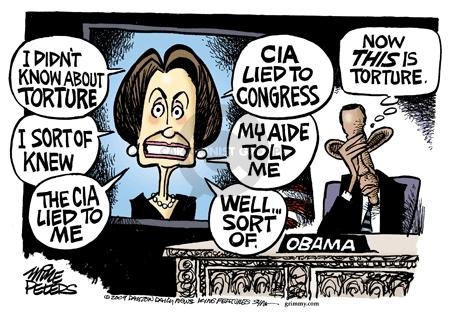 Cartoonist Mike Peters  Mike Peters' Editorial Cartoons 2009-05-16 CIA