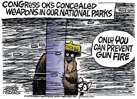 Cartoonist Mike Peters  Mike Peters' Editorial Cartoons 2009-05-22 bear