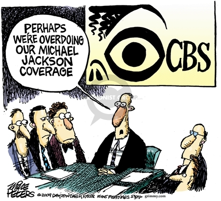 Mike Peters  Mike Peters' Editorial Cartoons 2009-07-02 television news