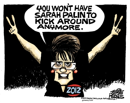 Cartoonist Mike Peters  Mike Peters' Editorial Cartoons 2009-07-07 Sarah Palin
