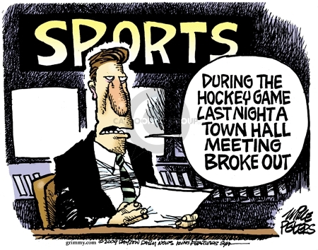Mike Peters  Mike Peters' Editorial Cartoons 2009-08-12 broke