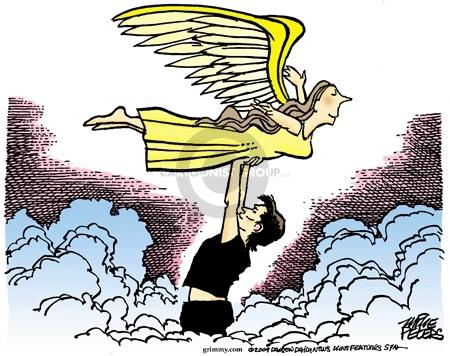 Cartoonist Mike Peters  Mike Peters' Editorial Cartoons 2009-09-15 head
