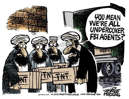 Cartoonist Mike Peters  Mike Peters' Editorial Cartoons 2009-09-25 terrorism