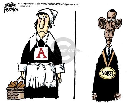 Mike Peters  Mike Peters' Editorial Cartoons 2009-10-12 badge