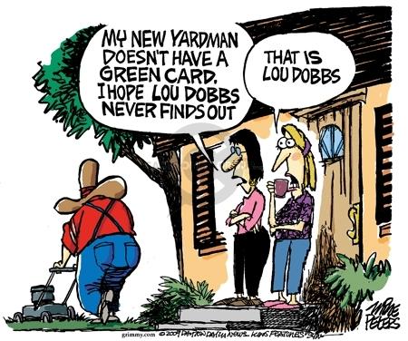 Cartoonist Mike Peters  Mike Peters' Editorial Cartoons 2009-11-13 card