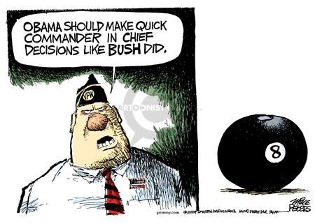 Cartoonist Mike Peters  Mike Peters' Editorial Cartoons 2009-11-24 Afghanistan