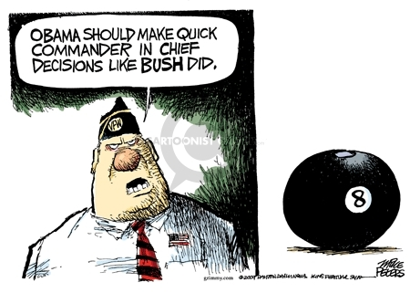 Cartoonist Mike Peters  Mike Peters' Editorial Cartoons 2009-11-24 process