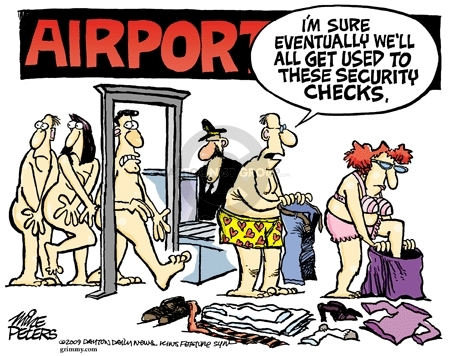 Cartoonist Mike Peters  Mike Peters' Editorial Cartoons 2009-12-30 security