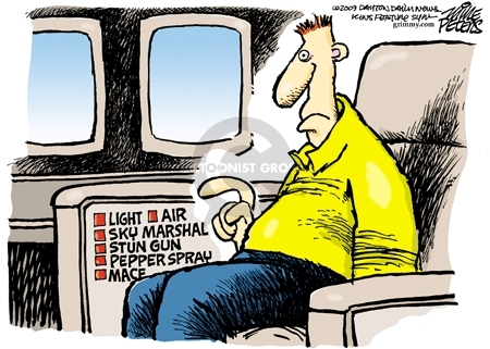 Cartoonist Mike Peters  Mike Peters' Editorial Cartoons 2010-01-01 travel safety