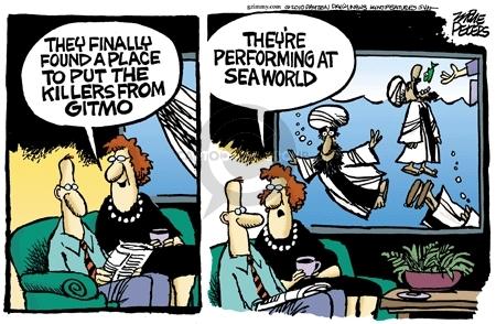 Cartoonist Mike Peters  Mike Peters' Editorial Cartoons 2010-03-02 prison
