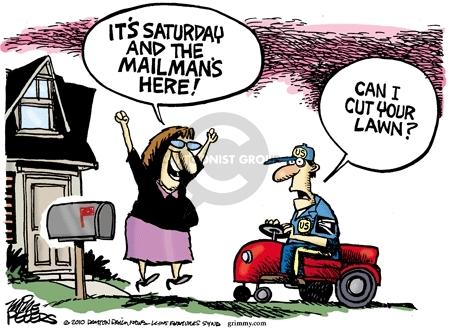 Mike Peters  Mike Peters' Editorial Cartoons 2010-03-09 mailman