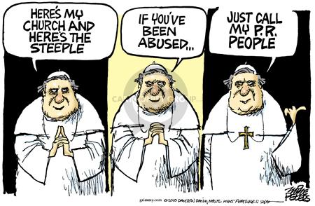 Cartoonist Mike Peters  Mike Peters' Editorial Cartoons 2010-03-24 church
