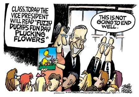 Mike Peters  Mike Peters' Editorial Cartoons 2010-03-25 Joe Biden