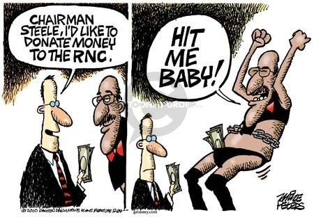 Cartoonist Mike Peters  Mike Peters' Editorial Cartoons 2010-03-30 Republican National Committee