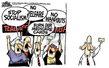 Cartoonist Mike Peters  Mike Peters' Editorial Cartoons 2010-04-05 card