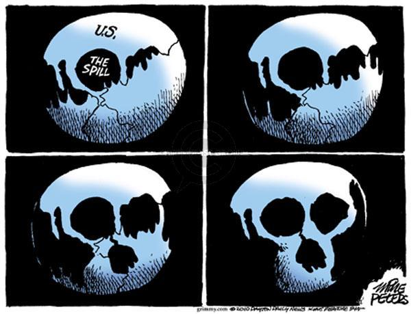 Cartoonist Mike Peters  Mike Peters' Editorial Cartoons 2010-05-11 earth
