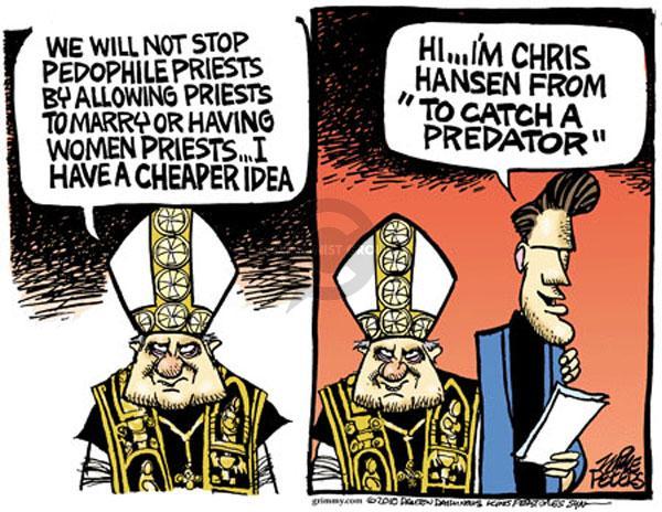 Cartoonist Mike Peters  Mike Peters' Editorial Cartoons 2010-06-11 church