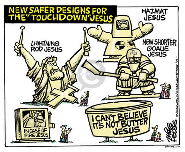 Mike Peters  Mike Peters' Editorial Cartoons 2010-06-15 Christ