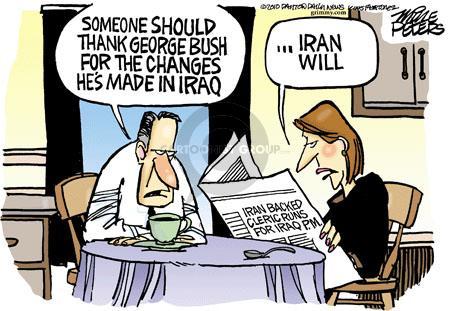 Mike Peters  Mike Peters' Editorial Cartoons 2010-09-03 Iran