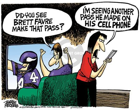 Mike Peters  Mike Peters' Editorial Cartoons 2010-10-12 football player