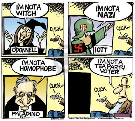 Cartoonist Mike Peters  Mike Peters' Editorial Cartoons 2010-10-13 rich