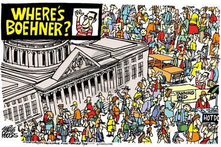 Cartoonist Mike Peters  Mike Peters' Editorial Cartoons 2010-10-19 2010