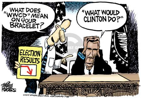 Cartoonist Mike Peters  Mike Peters' Editorial Cartoons 2010-11-05 2010