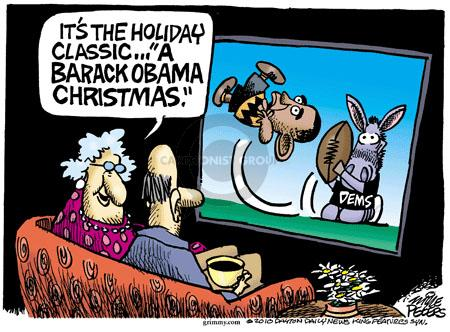 "Its the holiday classic ... ""A Barack Obama Christmas.""  Dems."