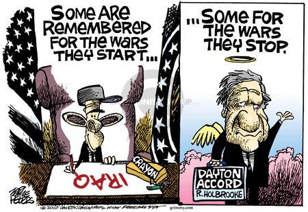 Cartoonist Mike Peters  Mike Peters' Editorial Cartoons 2010-12-14 Dayton
