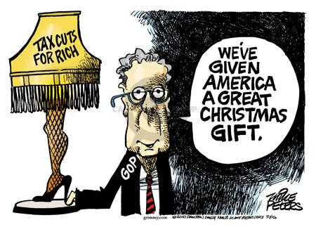 Cartoonist Mike Peters  Mike Peters' Editorial Cartoons 2010-12-17 give