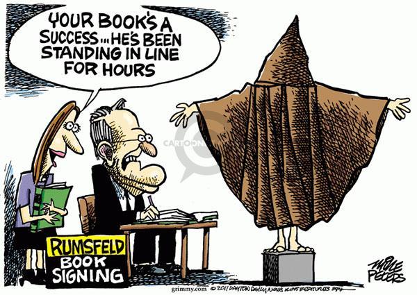 Cartoonist Mike Peters  Mike Peters' Editorial Cartoons 2011-02-04 book