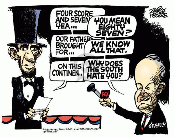 Cartoonist Mike Peters  Mike Peters' Editorial Cartoons 2011-02-09 address