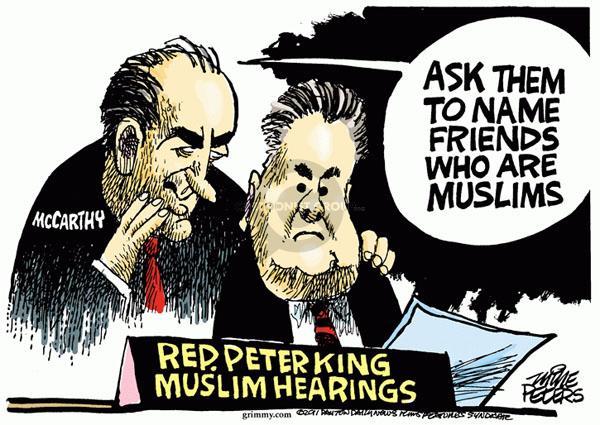 Mike Peters  Mike Peters' Editorial Cartoons 2011-03-09 Muslim