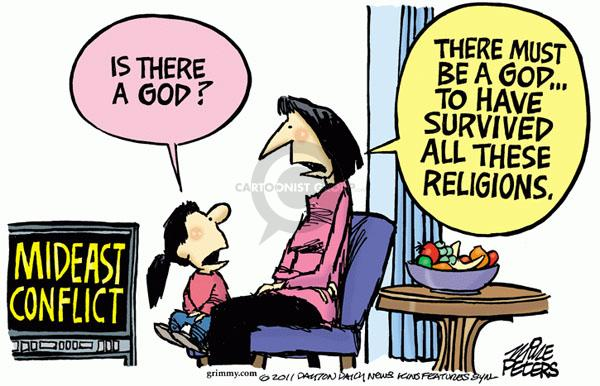 Mike Peters  Mike Peters' Editorial Cartoons 2011-04-08 Judaism