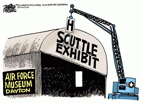 Cartoonist Mike Peters  Mike Peters' Editorial Cartoons 2011-04-12 Dayton