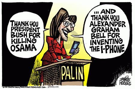 Cartoonist Mike Peters  Mike Peters' Editorial Cartoons 2011-05-05 credit