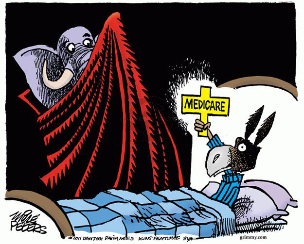 Cartoonist Mike Peters  Mike Peters' Editorial Cartoons 2011-05-26 care