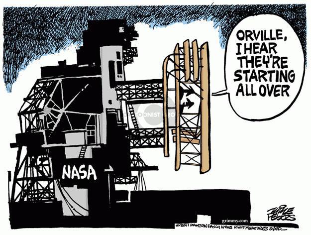 Cartoonist Mike Peters  Mike Peters' Editorial Cartoons 2011-07-21 national