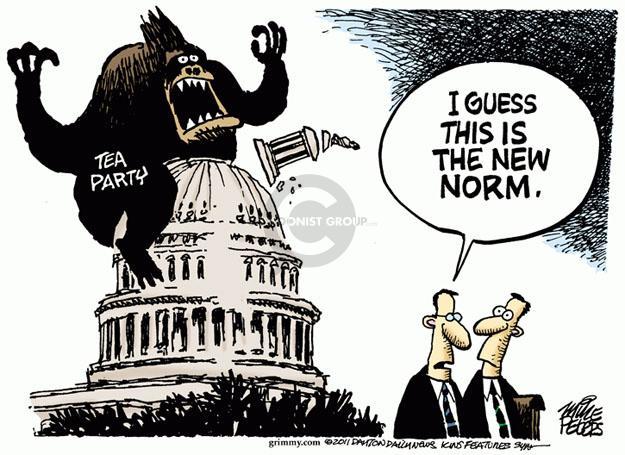Cartoonist Mike Peters  Mike Peters' Editorial Cartoons 2011-08-03 Washington