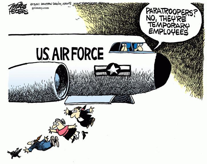 Cartoonist Mike Peters  Mike Peters' Editorial Cartoons 2011-08-18 defense