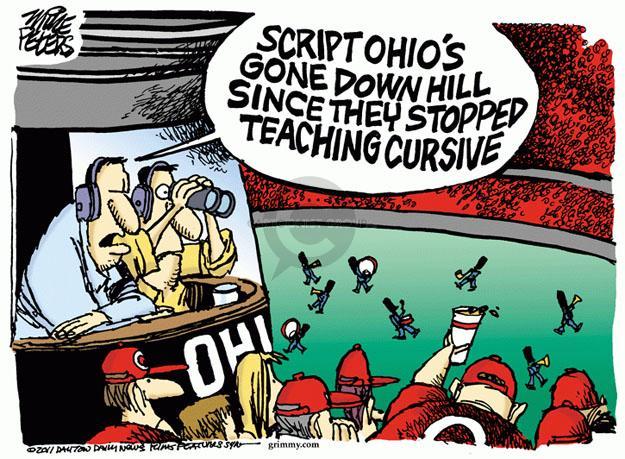 Cartoonist Mike Peters  Mike Peters' Editorial Cartoons 2011-09-14 school