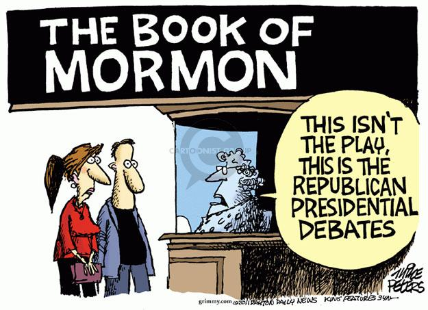 Mike Peters  Mike Peters' Editorial Cartoons 2011-10-11 2012 debate