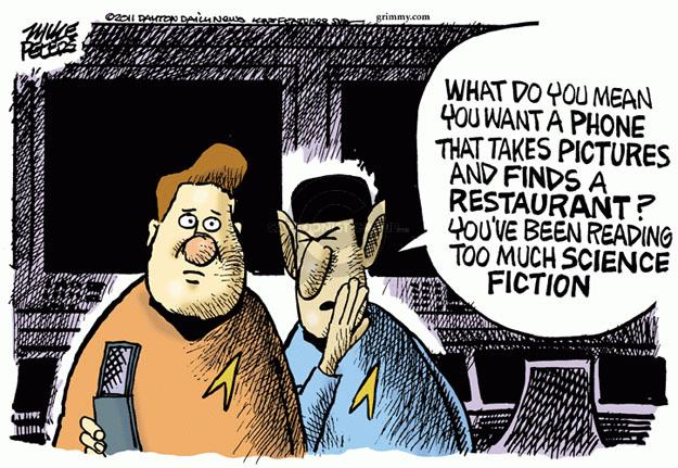 Cartoonist Mike Peters  Mike Peters' Editorial Cartoons 2011-10-14 technology
