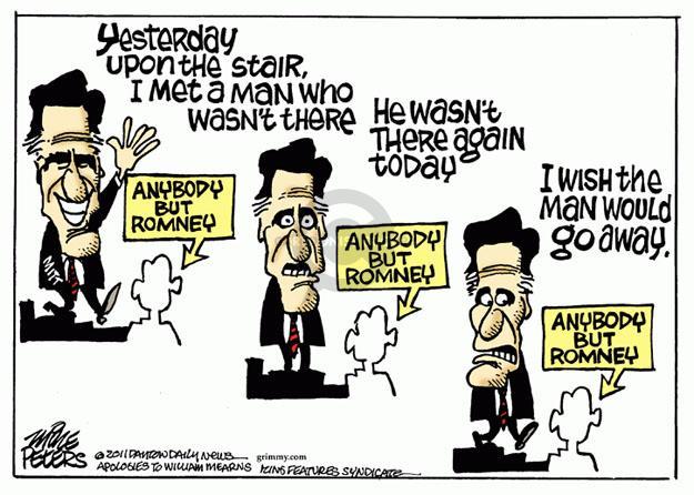 Cartoonist Mike Peters  Mike Peters' Editorial Cartoons 2011-11-02 poem