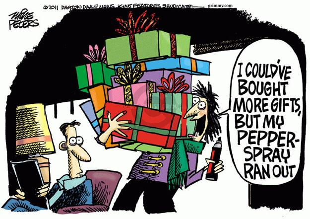Cartoonist Mike Peters  Mike Peters' Editorial Cartoons 2011-11-28 shopper