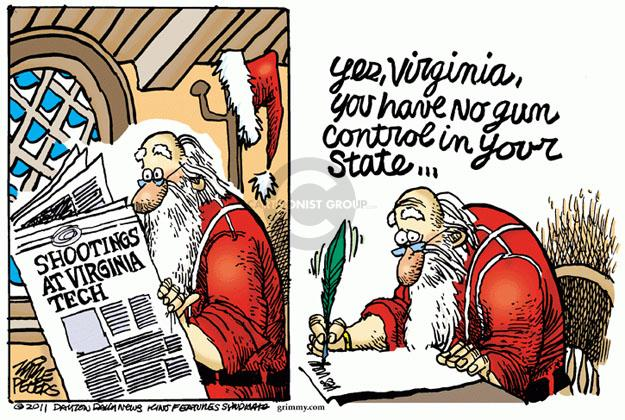 Cartoonist Mike Peters  Mike Peters' Editorial Cartoons 2011-12-10 university