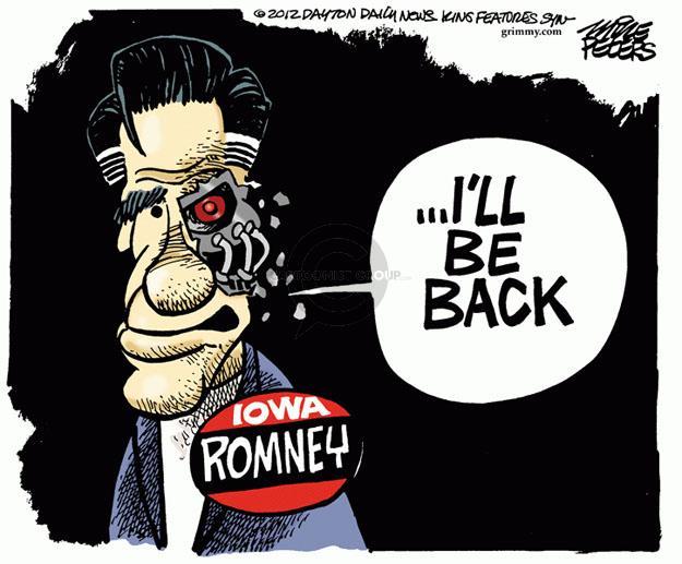 Cartoonist Mike Peters  Mike Peters' Editorial Cartoons 2012-01-04 republican