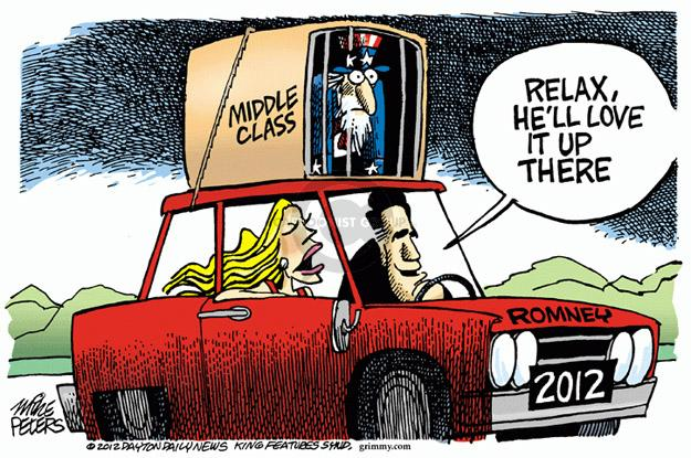 Mike Peters  Mike Peters' Editorial Cartoons 2012-01-13 2012 primary