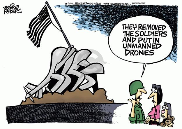 Mike Peters  Mike Peters' Editorial Cartoons 2012-01-27 military