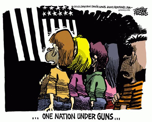 ... One nation under guns ...